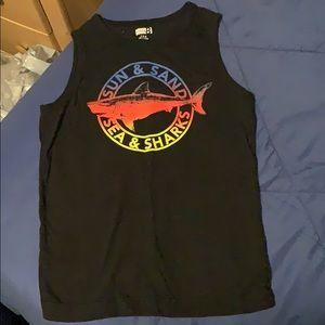 Crazy 8 boys sleeveless  T-shirt small  5/6